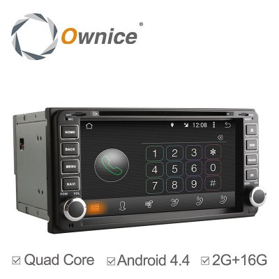 Ownice C180 - OL - 7699B Android 4.4.2 6.95 inch Car GPS DVD Multi-media Player