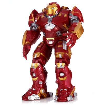 PVC Movie Action Figure Movable Joint Cartoon Decor with Chest Light - 6.7 inch
