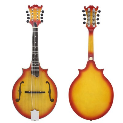 IRIN M - 60 Spruce Mandolin Rosewood Fingerboard 8 String Instrument for Music Lover