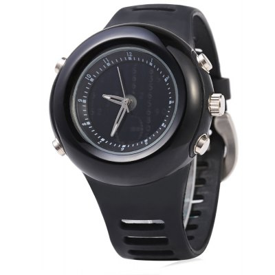 Casual Style Men Quartz Watch with Meteor Shower Interface Dial