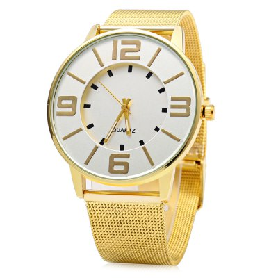 457 Business Style Women Quartz Watch with Stereo Dial