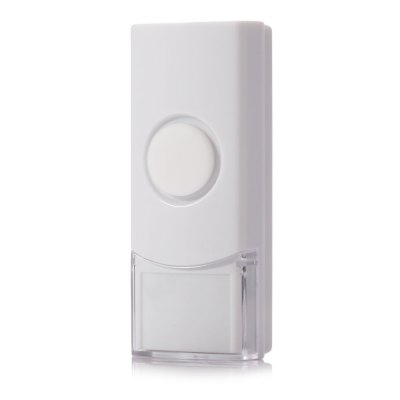 Quhwa QH - 822A Wireless Door BellDoorbell<br>Quhwa QH - 822A Wireless Door Bell<br><br>Brands: Quhwa<br>Color: Black,White<br>Output Adjustable Range : 80M (in the open air)<br>Package Contents: 1 x Transmitter, 1 x Receiver, 1 x CR2032 Battery, 1 x English User Manual, 1 x Sticker<br>Package size (L x W x H): 14.00 x 15.50 x 5.50 cm / 5.51 x 6.1 x 2.17 inches<br>Package weight: 0.181 kg<br>Product size (L x W x H): 7.60 x 11.00 x 4.20 cm / 2.99 x 4.33 x 1.65 inches<br>Product weight: 0.083 kg