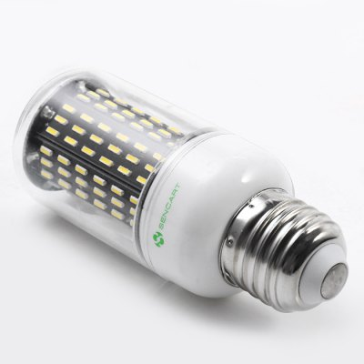 6 x Sencart E27 12W 1200LM 138 SMD4014 LED Corn LightCorn Bulbs<br>6 x Sencart E27 12W 1200LM 138 SMD4014 LED Corn Light<br><br>Available Light Color: White<br>Brand: Sencart<br>CCT/Wavelength: 6000-6500K<br>Emitter Types: SMD 4014<br>Features: Long Life Expectancy, Energy Saving<br>Function: Studio and Exhibition Lighting, Commercial Lighting, Home Lighting<br>Holder: E27<br>Luminous Flux: 1200LM<br>Output Power: 12W<br>Package Contents: 6 x Sencart LED Corn Light<br>Package size (L x W x H): 12.40 x 8.60 x 11.00 cm / 4.88 x 3.39 x 4.33 inches<br>Package weight: 0.266 kg<br>Product size (L x W x H): 3.80 x 3.80 x 10.00 cm / 1.5 x 1.5 x 3.94 inches<br>Product weight: 0.041 kg<br>Sheathing Material: ABS<br>Total Emitters: 138<br>Type: Corn Bulbs<br>Voltage (V): AC 110-120,AC 220-240