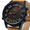 best SUOboni A7114 Casual Style Big Stereo Dial Men Quartz Watch