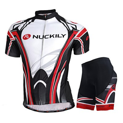NUCKILY MA008 MB008 Cycling Suit