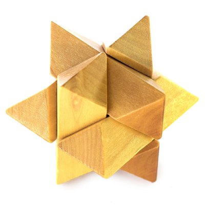 Unlock Puzzle Toy Classic Wooden Three-dimensional Jigsaw