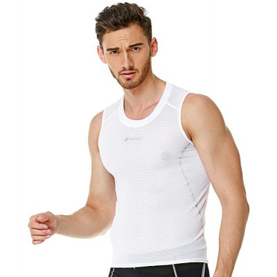NUCKILY MO002 Quick Sweat-absorbing Shapewear Vest for Men