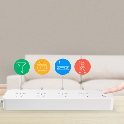 Broadlink MP1 Smart WiFi Power Strip with 4 Outlet