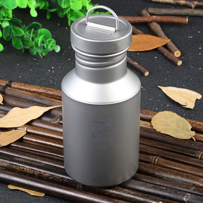 Keith Ti3030 400mL Titanium Sport Bottle for Outdoor