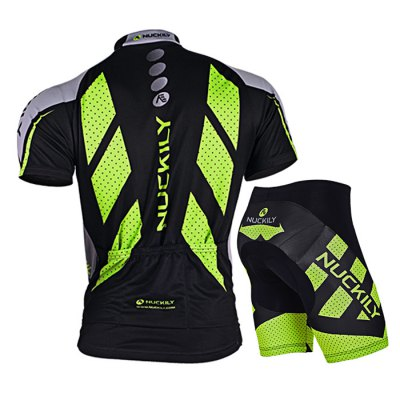 NUCKILY MA005 MB005 Men Bicycle Cycling Suit