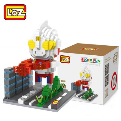 LOZ 550Pcs Building Block Educational Decoration Toy for Spatial Thinking