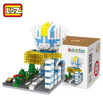 LOZ 540Pcs Building Block Educational Decoration Toy for Spatial Thinking