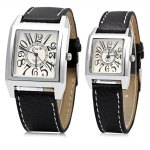 Lang Di B213 Square Dial Couple Watches