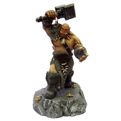 PVC Static Online Role-playing Game Figurine Character Model Home Office Decor - 11.8 inch