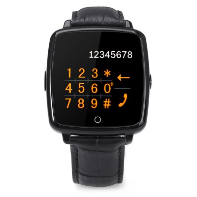 U Watch U11C Smartwatch PhoneSmart Watch Phone<br>U Watch U11C Smartwatch Phone<br><br>Additional Features: 2G, Sound Recorder, Notification, Calculator..., MP3, Calendar, Bluetooth, Alarm<br>Back-camera: 0.3MP<br>Battery: 360mAh Built-in<br>Bluetooth: Yes<br>Bluetooth Version: V3.0<br>Brand: U Watch<br>Camera type: Single camera<br>Cell Phone: 1<br>Compatible OS: Android<br>CPU: MTK2502<br>External Memory: TF card up to 16GB (not included)<br>Frequency: GSM850/900/1800/1900MHz<br>Functions: Pedometer, Remote Camera, Message, Sedentary reminder, Sleep monitoring, Anti-lost alert<br>Languages: English, French, Spanish, Portuguese, German, Italian, Dutch, Finnish, Turkish, Russian, Arabic, Persian, Hebrew, Thai, Chinese, Swedish, Romanian<br>Micro USB Slot: Yes<br>Microphone: Supported<br>Music format: MP3<br>Network type: GSM<br>Package size: 12.00 x 10.60 x 8.50 cm / 4.72 x 4.17 x 3.35 inches<br>Package weight: 0.2350 kg<br>Picture format: JPEG<br>Product size: 4.50 x 4.20 x 1.10 cm / 1.77 x 1.65 x 0.43 inches<br>Product weight: 0.0550 kg<br>RAM: 64MB<br>ROM: 128MB<br>Screen resolution: 240 x 240<br>Screen size: 1.54 inch<br>Screen type: Capacitive<br>SIM Card Slot: Single SIM<br>Speaker: Supported<br>TF card slot: Yes<br>Type: Watch Phone<br>USB Cable: 1<br>Video format: AVI<br>Wireless Connectivity: Bluetooth, GSM