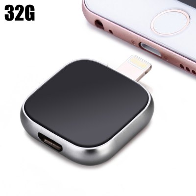 32GB 2 in 1 OTG 8Pin Flash Drive + USB 3.0 Cable