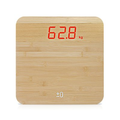 YESHM YHB1321 Bamboo Wooden Body Fat Scales