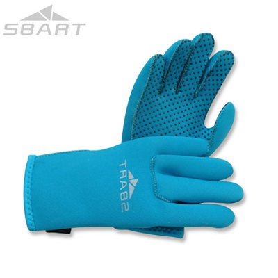 SBART Children Water Resistant Diving Gloves for Water Sport