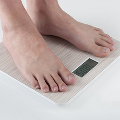YESHM YHB1447 Wooden Grain Shape Body Fat ScalesBody Scale<br>YESHM YHB1447 Wooden Grain Shape Body Fat Scales<br><br>Model: YHB1447<br>Package Contents: 1 x Fat Scale ( Built-in 3V CR2032 Battery ), 1 x Bilingual Manual in English and Chinese<br>Package size (L x W x H): 29.50 x 29.50 x 3.30 cm / 11.61 x 11.61 x 1.3 inches<br>Package weight: 1.4000 kg<br>Product size (L x W x H): 27.60 x 27.60 x 1.62 cm / 10.87 x 10.87 x 0.64 inches<br>Product weight: 1.1300 kg