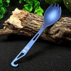 Keith Ti5711 Blue Titanium Spoon Tableware for Outdoor deal