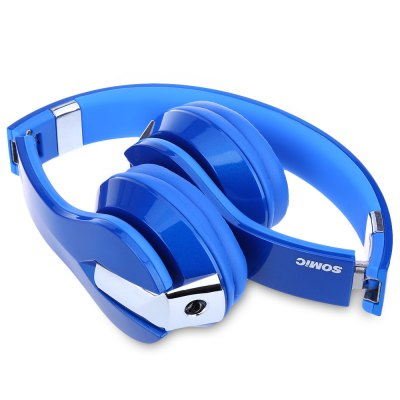 Somic N2 Foldable Music Headphones Super Bass with Microphone