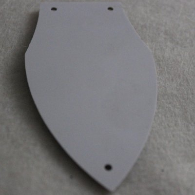 M840 Pickguard PVC + Celluloid Accessory for Electric Guitar Rear Shell
