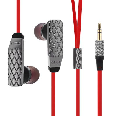 Somic L2 Dynamic HiFi Music In-ear Earphones with Mic