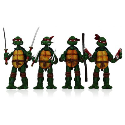 5.5 inch Plastic Movie Figure Toy - 4Pcs