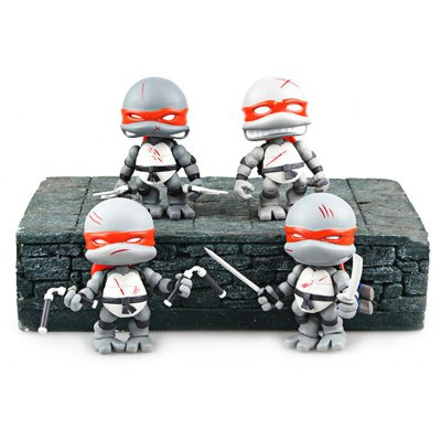 3.1 inch Plastic Movie Figure Toy - 4Pcs
