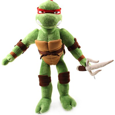 15.7 inch Turtle Style Anime Figure Design Cute Plush Toy Stuffed Doll Cartoon Product Children Present