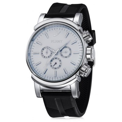 FLENT b082 Working Sub-dials Men Quartz Watch