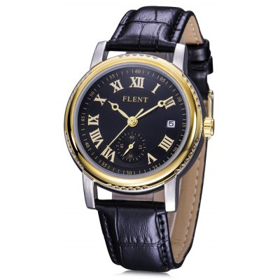 FLENT b077 Working Sub-dial Male Quartz Watch