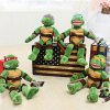 15.7 inch Turtle Style Anime Figure Design Cute Plush Toy Stuffed Doll Cartoon Product Children Present for sale