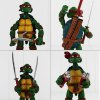 4Pcs Plastic Movie Turtle Style Action Figure Movable Joint Cartoon Decor - 5.5 inch photo