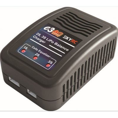 SKYRC E3 AKKU Balance Charger AC 110V - 240V 2S / 3S Lithium Battery for RC Model - US Plug