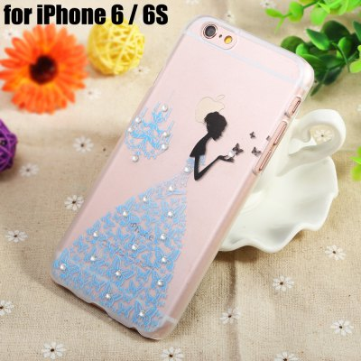 Diamond Style Protective Back Case for iPhone 6 / 6S