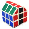 DECAKER Twist Magic Cube House Shape Brain Teaser 3 Layer Educational Toy photo