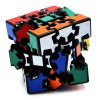 best DECAKER 3D Gear Magic Cube 3 x 3 x 3 Colorful Cool Toy - Black Base