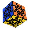 DECAKER 3D Gear Magic Cube 3 x 3 x 3 Colorful Cool Toy - Black Base photo