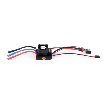 60A Brushless Electronic Speed Controller Max. 7.2V ESC Fitting for 1 / 10 1 / 12 Scale RC Car