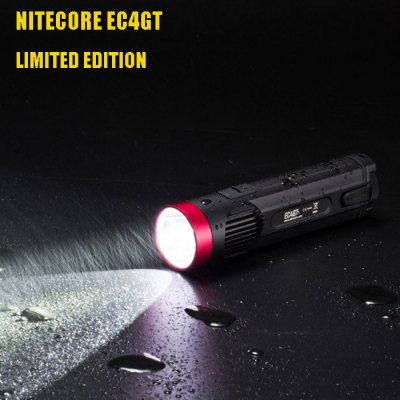 Nitecore EC4GT Limited Edition LED Flashlight