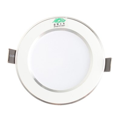 Zweihnder 10 x SMD5730 5W 480Lm Round LED Ceiling Light