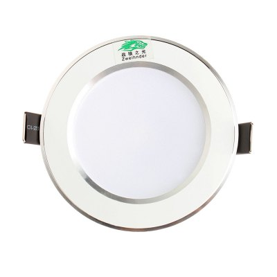 Zweihnder 3W 6 x SMD5730 280Lm Recessed LED Ceiling Light