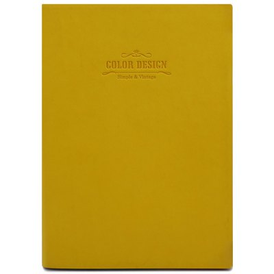 Deli A5 Leather Cover Notebook