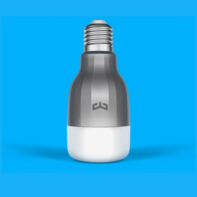 Xiaomi Yeelight RGBW E27 Smart LED BulbXiaomi Yeelight RGBW E27 Smart LED Bulb<br><br>Brand: XiaoMi<br>Holder: E27<br>Output Power: 9W<br>Voltage (V): AC 220<br>Total Emitters: 9 x white, 10 x RGB<br>Luminous Flux: 600LM<br>Available Light Color: RGBW<br>Features: Dimming,Remote Control,WiFi<br>Function: Commercial Lighting,Home Lighting,Studio and Exhibition Lighting<br>Body Color: Silver<br>Lifespan: 11 years<br>Sheathing Material: Aluminum Alloy,Plastic<br>Product weight: 0.145 kg<br>Package weight: 0.250 kg<br>Product size (L x W x H): 12.00 x 5.50 x 5.50 cm / 4.72 x 2.17 x 2.17 inches<br>Package size (L x W x H): 13.00 x 6.50 x 6.50 cm / 5.12 x 2.56 x 2.56 inches<br>Package Contents: 1 x Xiaomi Yeelight RGBW Smart LED Bulb