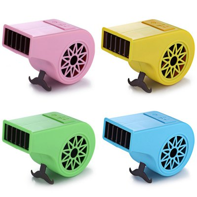 2 Modes Mini Whistle-shaped Electric Air Fan with Lanyard
