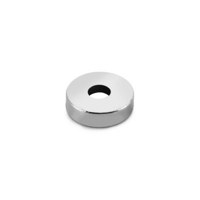 20Pcs / Lot 10 x 10 x 3mm N38 Powerful NdFeB Round Magnet with Hole Educational DIY Toy