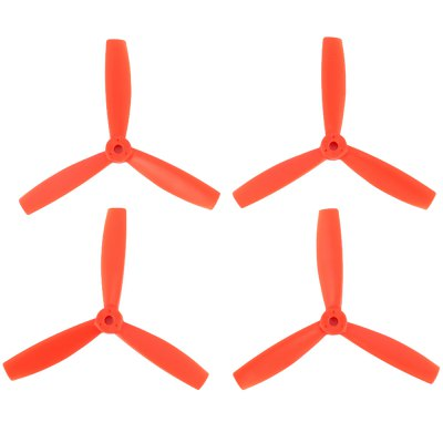 2 Pair 5045 3 Blade Bull Nose Propeller CCW CW Strengthen for RC Multirotor