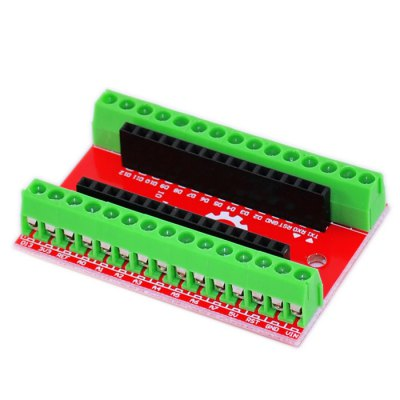 2PCS NANO IO Shield for Arduino Writing Connection and Experiments