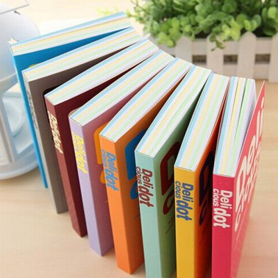 Deli BZ - 100 5PCS Colorful Note BookNotebooks &amp; Pads<br>Deli BZ - 100 5PCS Colorful Note Book<br><br>Brand: Deli<br>Material: Paper<br>Product weight: 1.050 kg<br>Package weight: 1.080 kg<br>Product size (L x W x H): 17.00 x 10.60 x 2.50 cm / 6.69 x 4.17 x 0.98 inches<br>Package size (L x W x H): 18.00 x 12.60 x 7.00 cm / 7.09 x 4.96 x 2.76 inches<br>Package Contents: 5 x Note Book